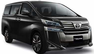 Spesifikasi Toyota Vellfire All New