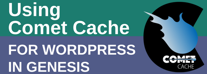 Review - Using Comet Cache in WordPress and Genesis
