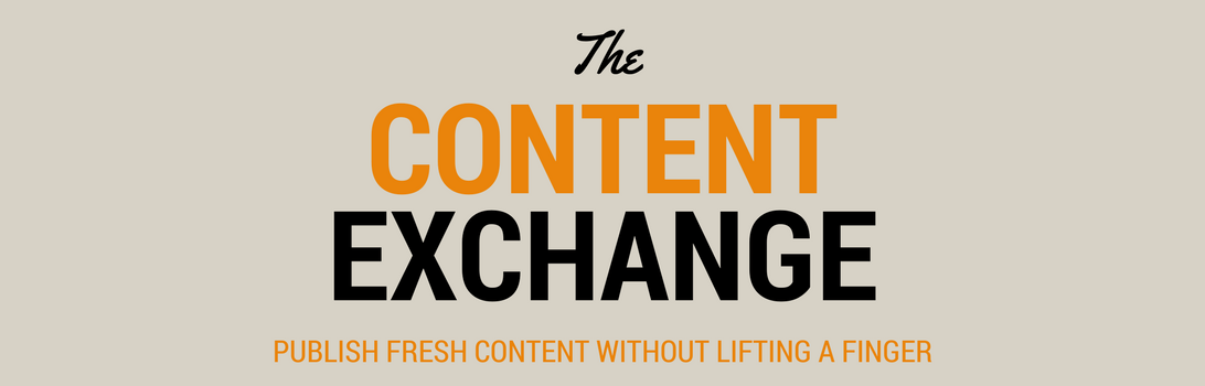 content marketing and exchange