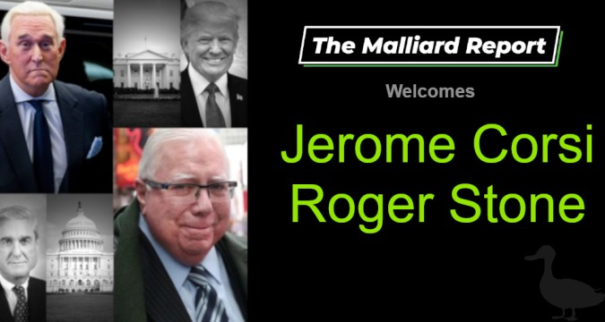 Jerome Corsi and Roger Stone