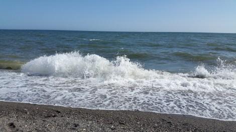 Noch einmal Wellen und Meer!