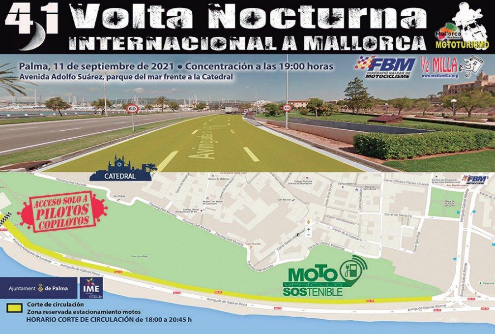 41. 'Volta Nocturna Internacional a Mallorca en moto 2021'