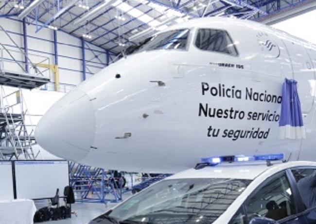 Policia Nacional von Air Europa