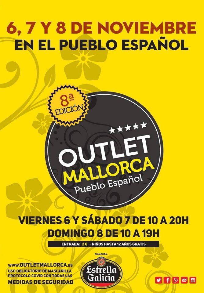 """8. """"Feria Outlet Mallorca"""" im Nuevo Pueblo Español"""