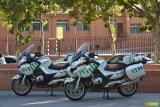 Guardia Civil mit neuen Motorrädern