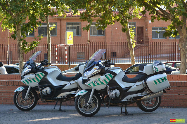 Einsatzfahrzeug der Guardia Civil auf Mallorca