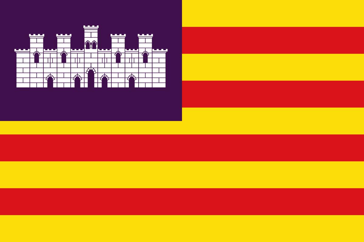 Flagge der Balearen
