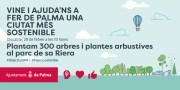 Cort wird am Samstag im parque de sa Riera Büsche und Bäume pflanzen