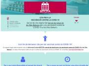Conselleria de Salud startet Website für Impftermine