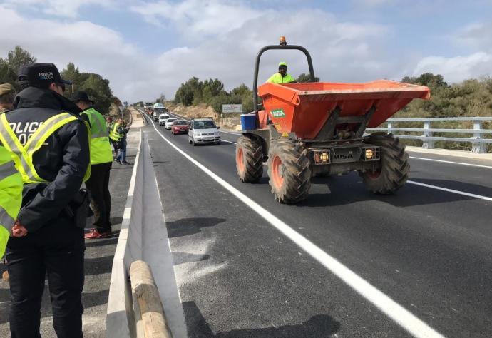 Strassenbau auf Mallorca