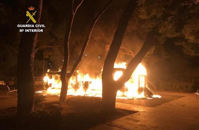 Guardia Civil verhaftet mutmasslichen Brandstifter