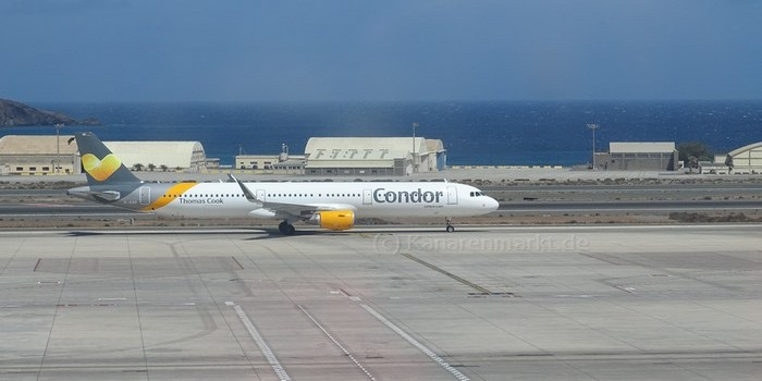 Flugzeug der Airline Condor