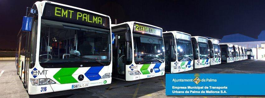 Busse der EMT Palma de Mallorca