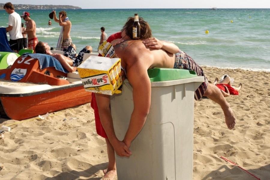 Zivile Überwachung an der Playa de Palma
