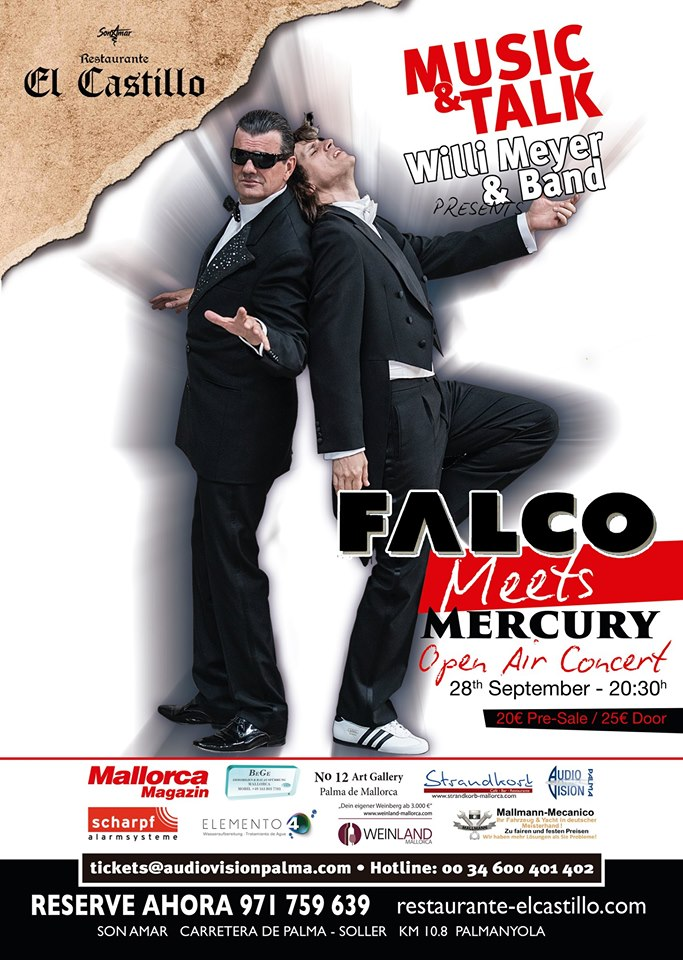 Music&Talk - Open Air - Special Guests: Falco meets Mercury