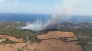 Brand der Stufe 1 in Calas de Mallorca