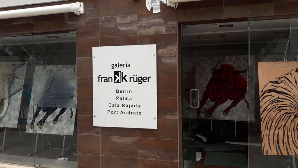 Neue Galeria Frank Krüger in Port Andratx