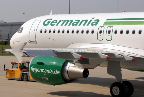 Der Preis für's Billig-Fliegen? Germania Fluggesellschaft mbH in Not?