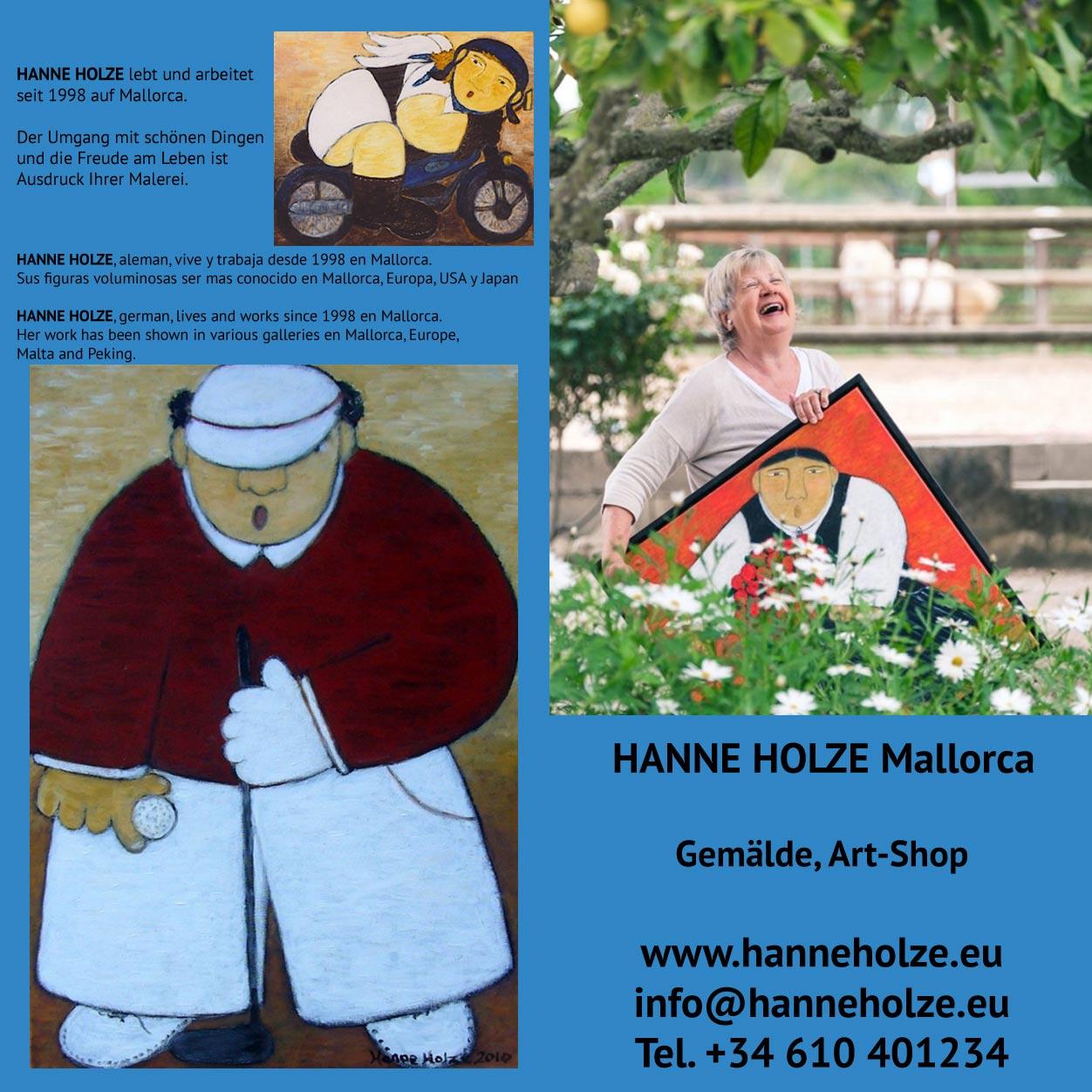 HANNE HOLZE Mallorca - Flyer