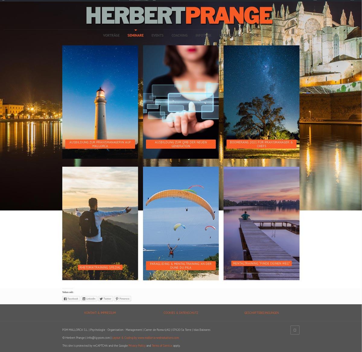 Herbert Prange - IG POM S.L.