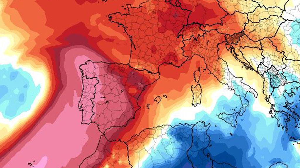Hitzewelle in Spanien