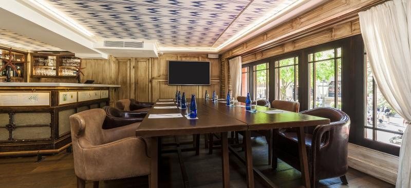 Seminarraum des Designhotel Cort
