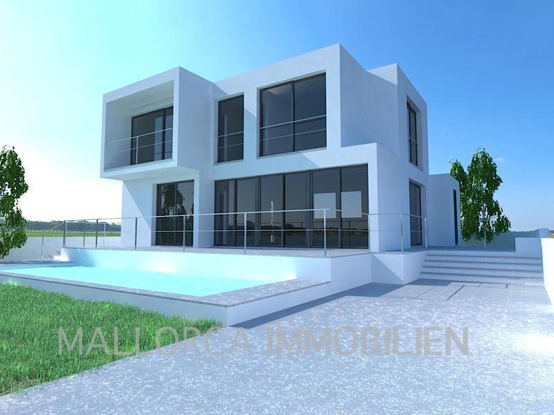 Projektierte Villa in Colonia St. Pere