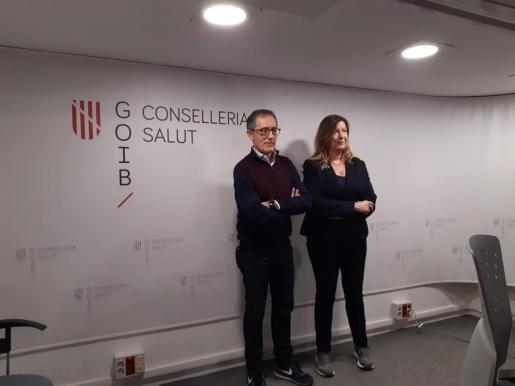 Javier Arranz und Francina Armengol