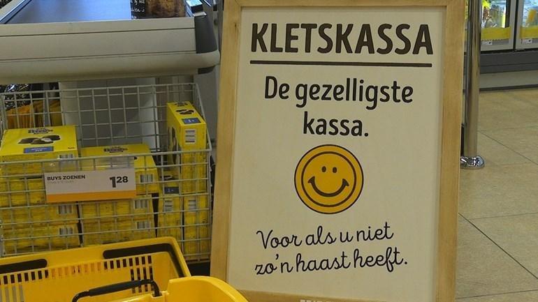 """Niederländischer Supermarkt führt """"Plauderkasse"""" ein"""
