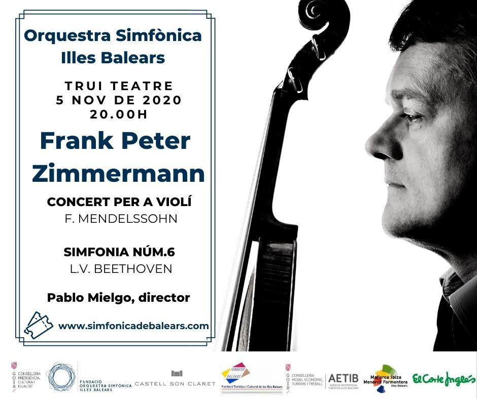 Konzert des Geigers Frank Peter Zimmermann