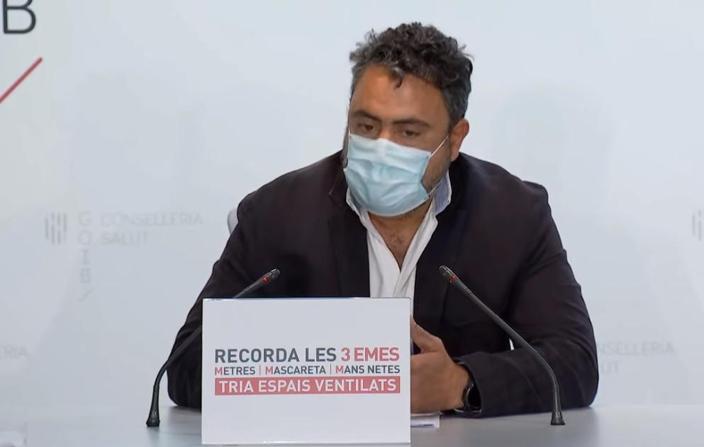 Leiter des mikrobiologischen Labors, Antonio Oliver