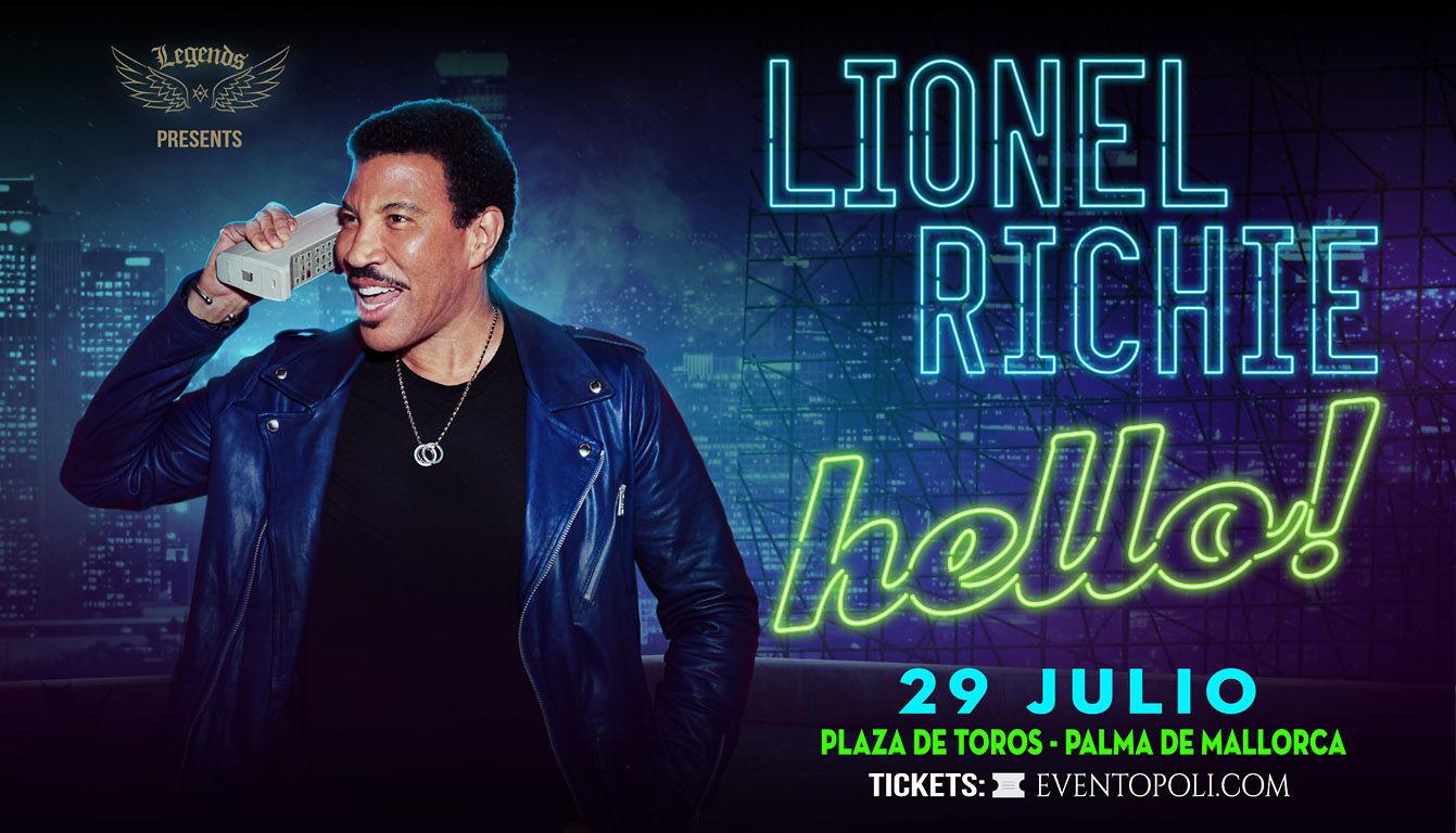 Lionel Richie wird nächsten Sommer auf Mallorca auftreten