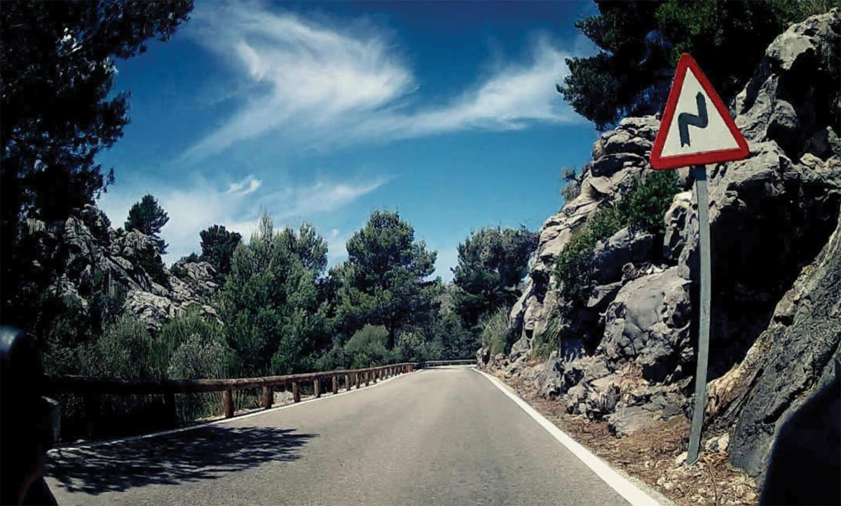 """Mallorca from the handlebar"" von Christian Wetzel"