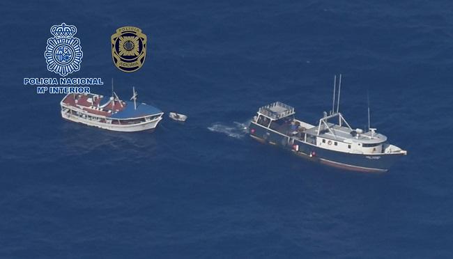 Mehr als 4 Tonnen Kokain auf einem venezolanischen Fischerboot