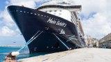 Mein Schiff 3 sitzt in Southampton fest