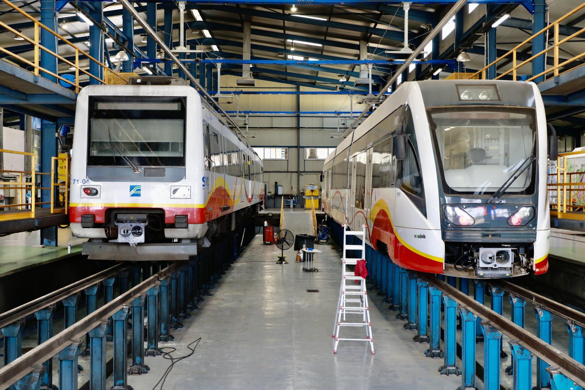 Neue Züge für SFM