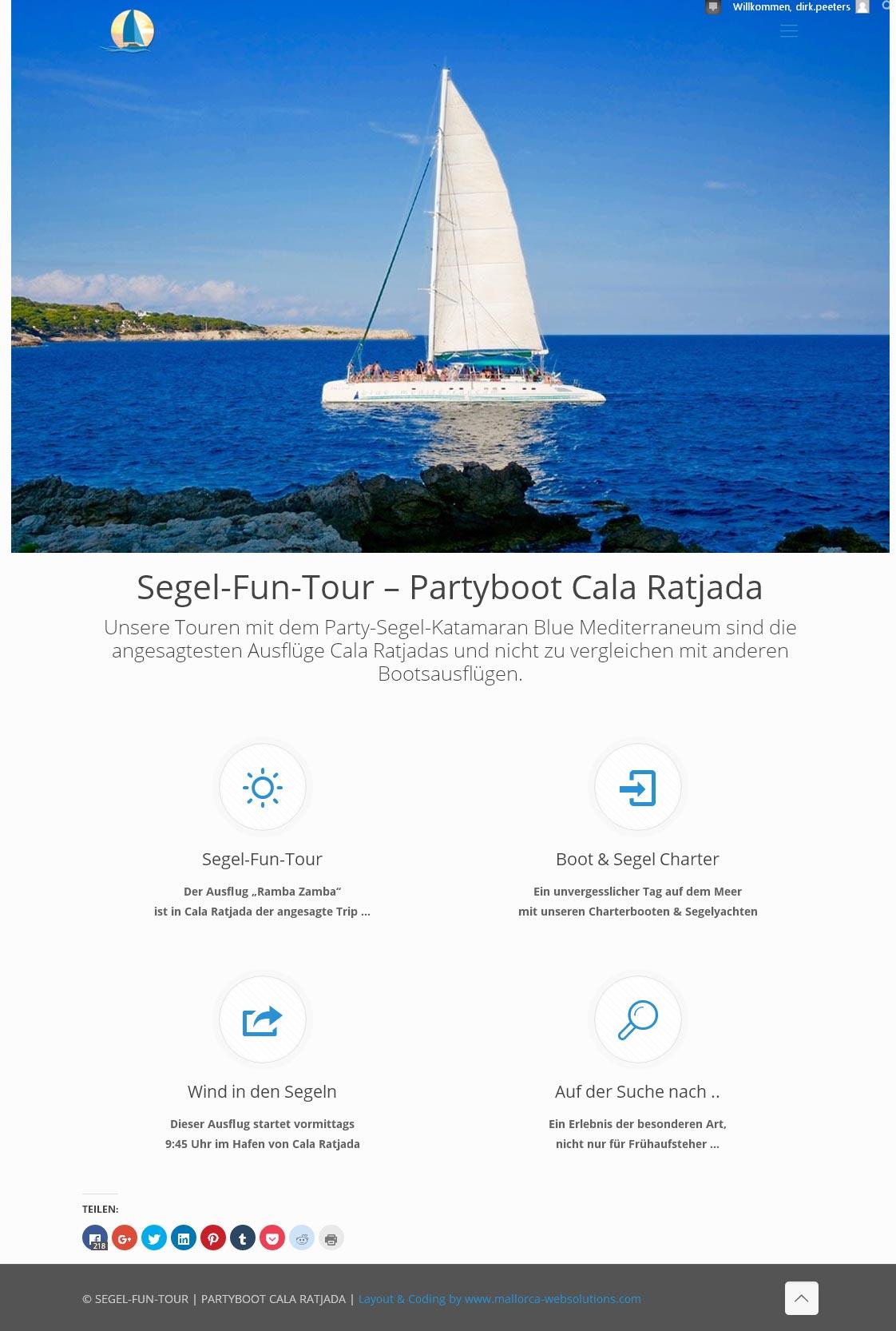Adventure-Tour – Katamaran Cala Ratjada