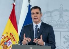 Sanchez kündigt die Einstellung von nicht wesentlichen wirtschaftlichen Aktivitäten an
