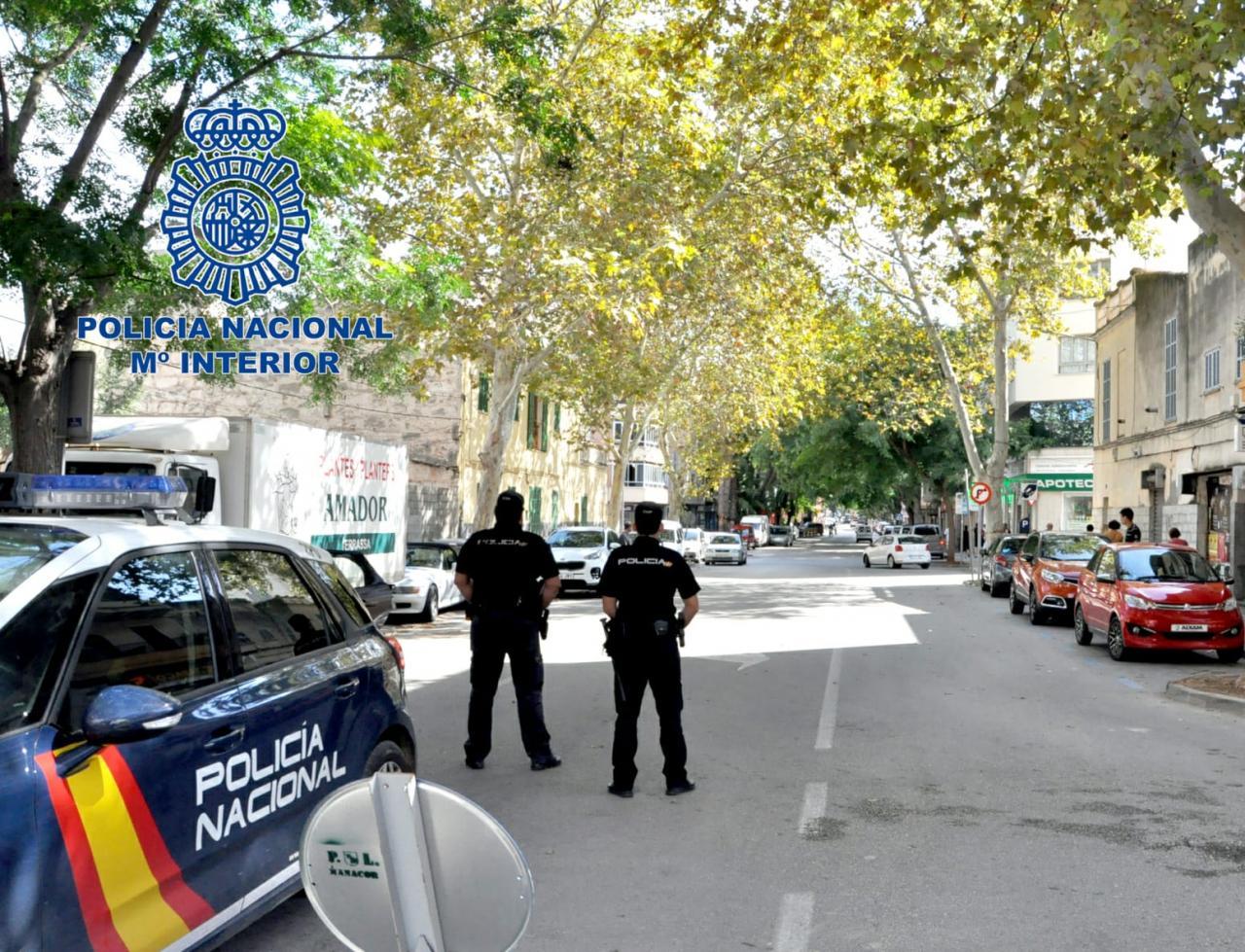 Policia Nacional auf Mallorca