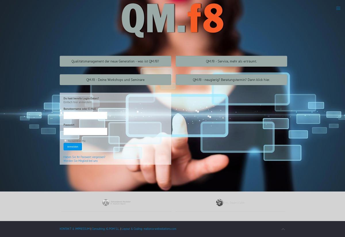 QM.f8 - Qualitätsmanagement für Zahnarztpraxen