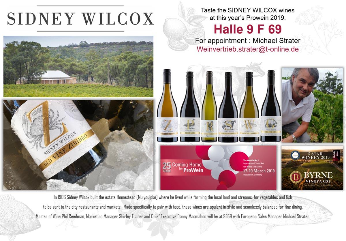 Oversea Wine Alliance - Sidney Wilcox