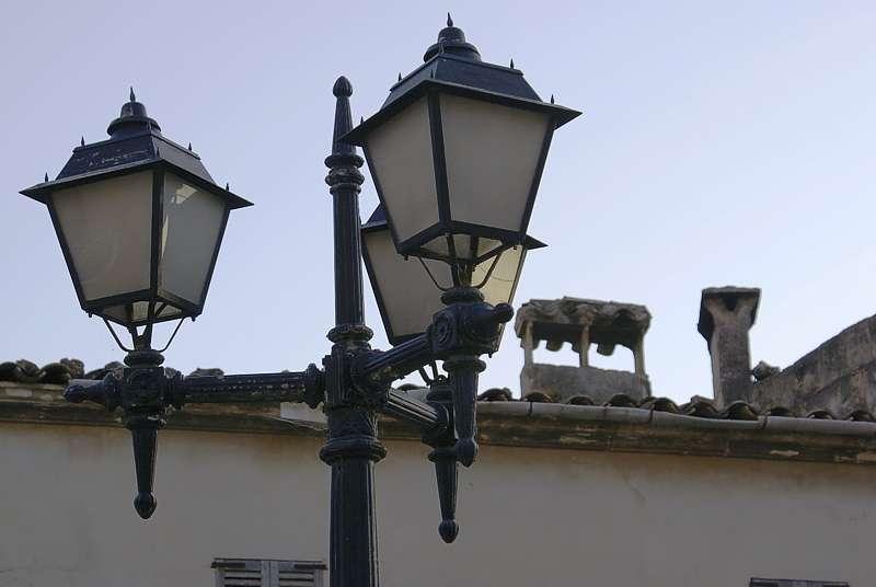 Strassenlaterne auf Mallorca