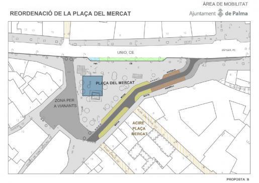 Plaça del Mercat und Calle Unió ab 9. Dezember für den Verkehr gesperrt