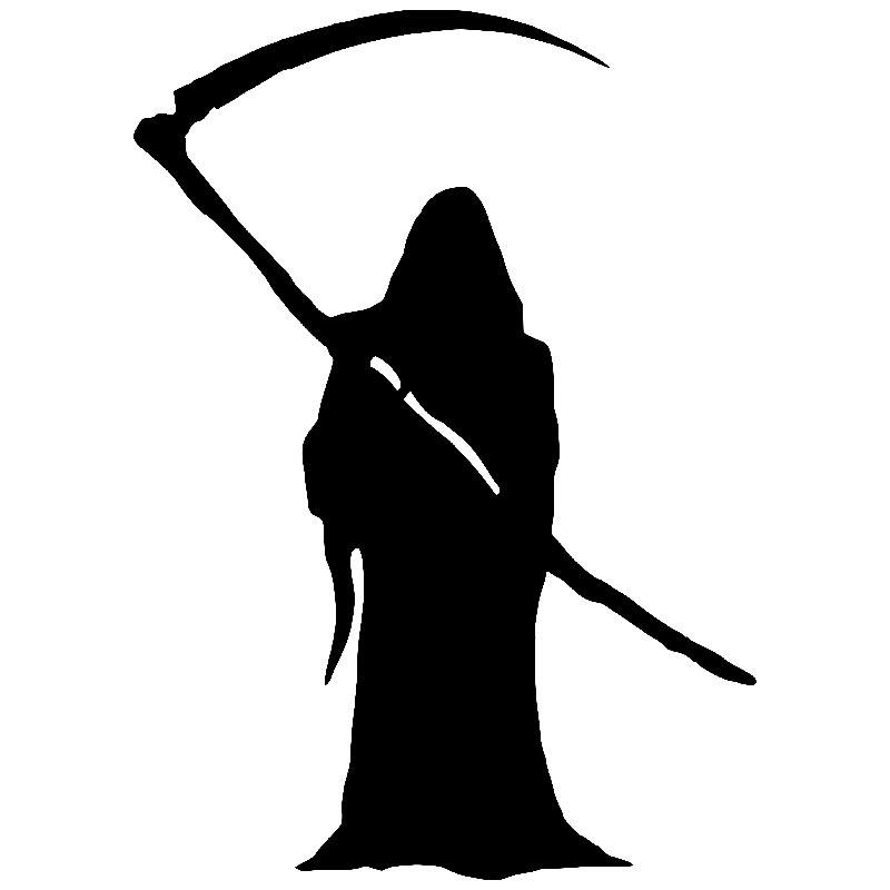 Der Sensenmann, Symbol des Todes