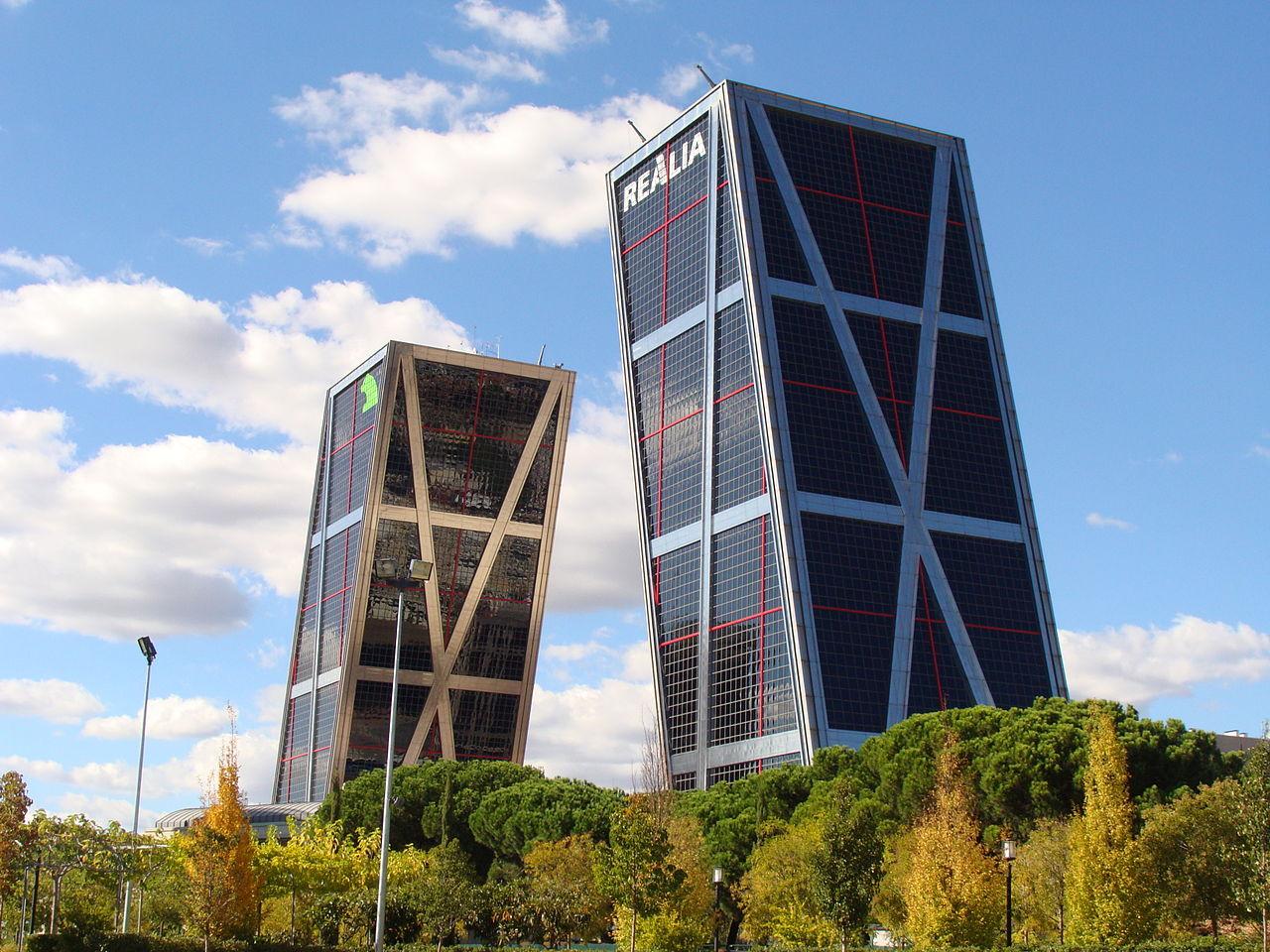Torre Kio Madrid