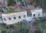 """Wiederaufbau des """"Tunnels"""" von Estellencs"""