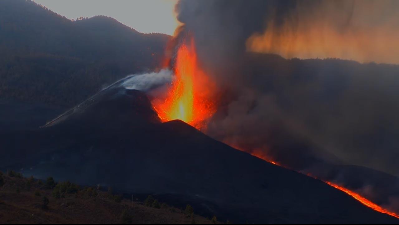 Vulkan hat noch Lava