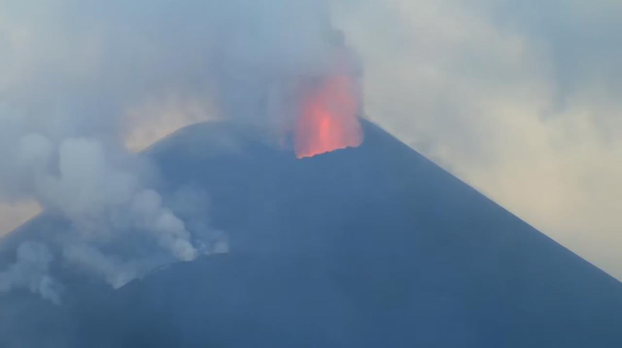 Vulkanaktivität hört nicht auf