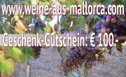 Weine & Feines aus Mallorca - jetzt Genuss verschenken
