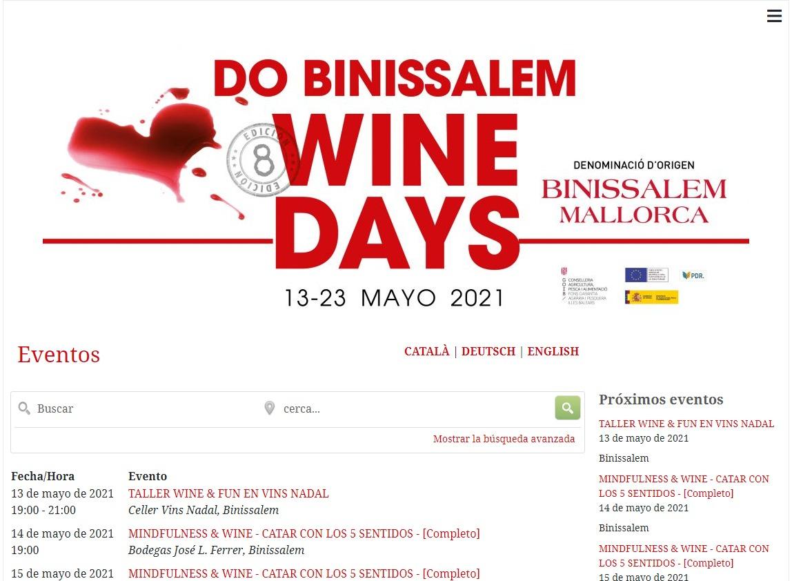 Wine Days Mallorca 2021